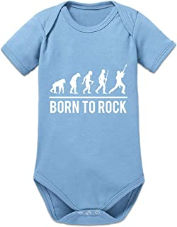 Shirtcity Born to Rock Baby Strampler by