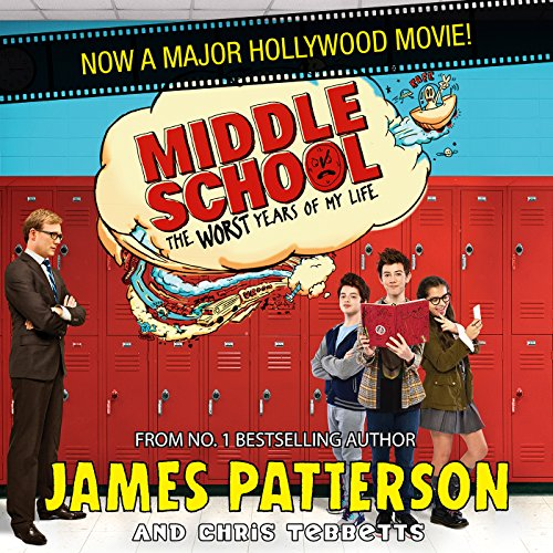 Middle School audiobook cover art
