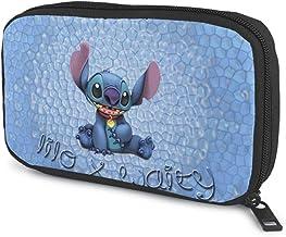 スティッチサンワダイレクト トラベルポーチ ガジェットポーチ 旅行 出張 便利グッズ マウス ケーブル モバイルバッテリー 収納ポーチ ブラック