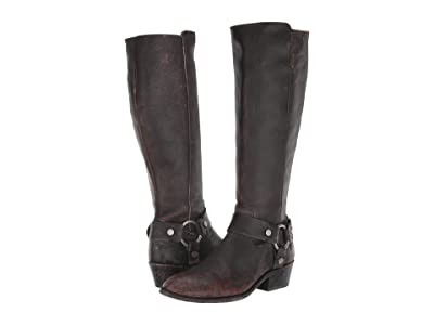 Frye Carson Harness Tall (Black) Women