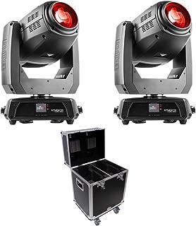 2x Chauvet Intimidator Hybrid 140SR + Flight Case