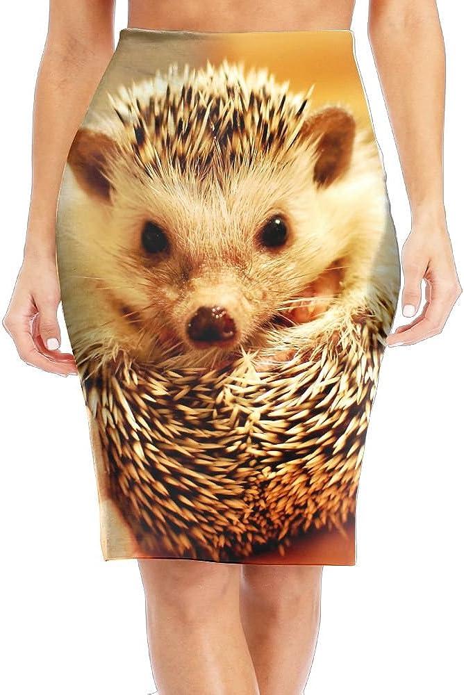 Cute Ranking TOP2 Animal Baby Hedgehog Free shipping / New Women's Skirt Pencil Printed Fashion