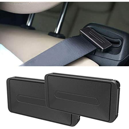 SIMENMAX Car Seat Belt Clip,Seatbelt Adjuster,2pcs Universal Automotive Vehicle Seat Belt Adjuster Clip for Kids and Adults