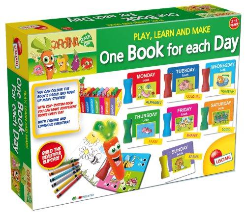 Lisciani- Carotina Talking Pen Un Libro para Cada Día, Multicolor, Talla única (E45266)