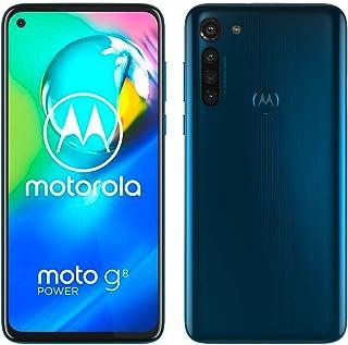 "Motorola Moto G8 Power Smartphone, Batteria 5000 mAh, Display MaxVision FHD+ 6.4"", Quad Camera 16MP, Processore Octa-Core,..."