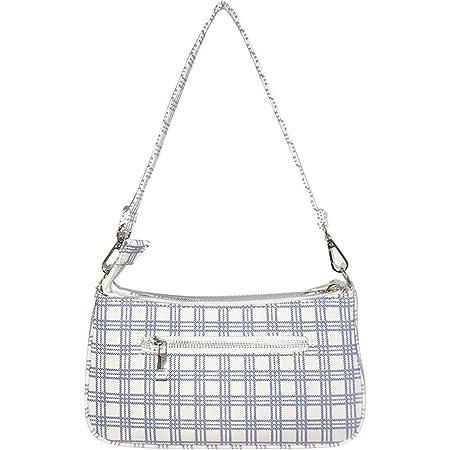 CHIC DIARY Damen Unterarm Tasche Schultertasche Baguette Bag Vintage Mode Crocodile Muster PU Leder Achseltasche Handtasche