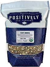 Positively Tea Company, Organic White Mimosa, White Tea, Loose Leaf, USDA Organic, 1 Pound Bag