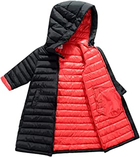 Kids Hooded Padded Jacket Toddler Windproof Snow Coat Puffer Overcoat
