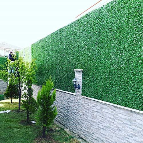 DecoraGrass 10m Rolle Sichtschutzhecke Balkon Umspannung PVC Sichtschutz Blickschutz Windschutz 180cm