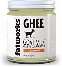 product image for Fatworks Fine Filtered 100% Grass-Fed Goat Milk Ghee, KETO, PALEO, WHOLE 30 APPROVED, 7.5 oz.