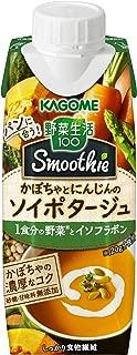 カゴメ 野菜生活100 Smoothieかぼちゃとにんじんのソイポタージュ 250g ×12本