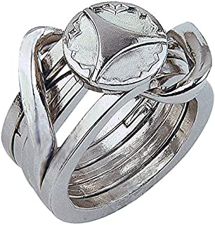2 metal ring puzzle