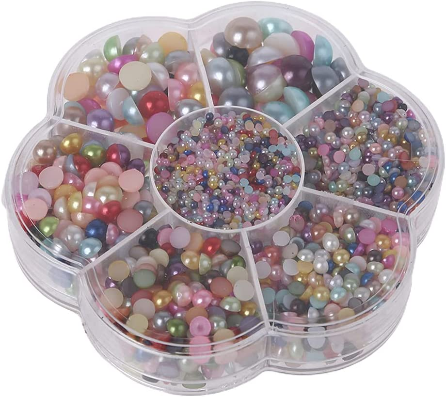 SANGHAI Round Beads 5600 Pieces Pearl DIY Size NEW Mixed trend rank Half