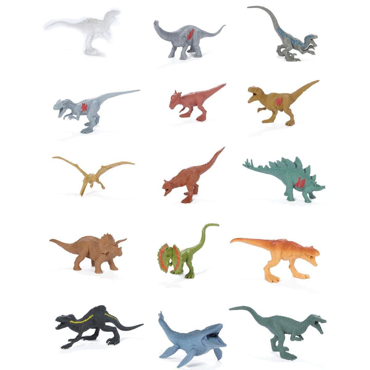 Jurassic World Fallen Kingdom Mini Dino Multipack 15 Pack Battle Damage.: Amazon.es: Juguetes y juegos