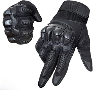 YUNLONG Tactical Gloves Touch Screen Motorcycle Full Finger Cycling Motorbike ATV Hunting Hiking Riding Climbing Operating Work Sports Gloves