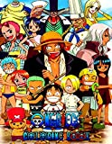 One Piece Coloring Book: More then 50 high quality illustrations .One Piece Manga, One Piece GOLD ,One Piece Coloring Book , One Piece ,Manga, Anime Coloring Book ...