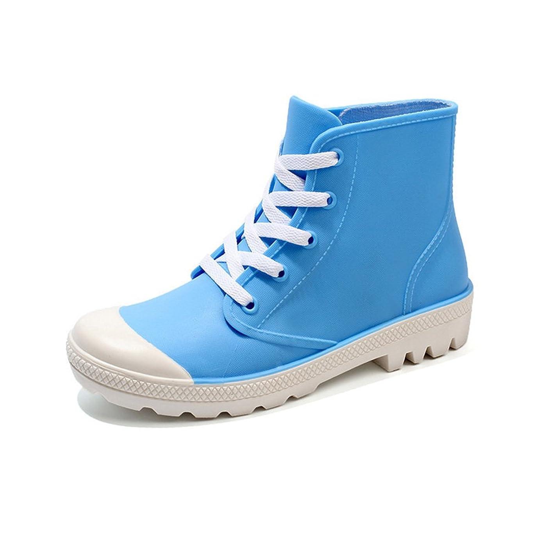 読む銛体系的にレインブーツ レディース レインシューズ サイドゴア ショートブーツ おしゃれ 防水 耐滑 雨靴 BLJ515-1