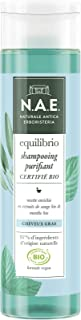 N.A.E. - Shampooing Purifiant Cheveux Gras - Certifié Bio - Extraits de Sauge Bio et de Menthe Bio - Formule Vegan - 97 % ...