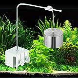 ZHEG Aquarium Wasser Lampe Led Beleuchtung Pendelleuchte Downlight Stroh Tank Lampe Clamp Lampe Wasserdicht Weißes Licht-7W