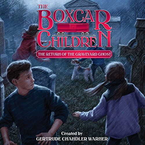 The Return of the Graveyard Ghost audiobook cover art