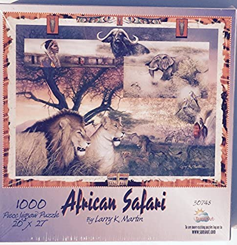 Sunsout African Safari 1000 Piece Jigsaw Puzzle by SunsOut