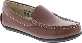 FOOTMATES Brooklyn Slip-On Loafer (Toddler/Little Kid/Big Kid) Cognac