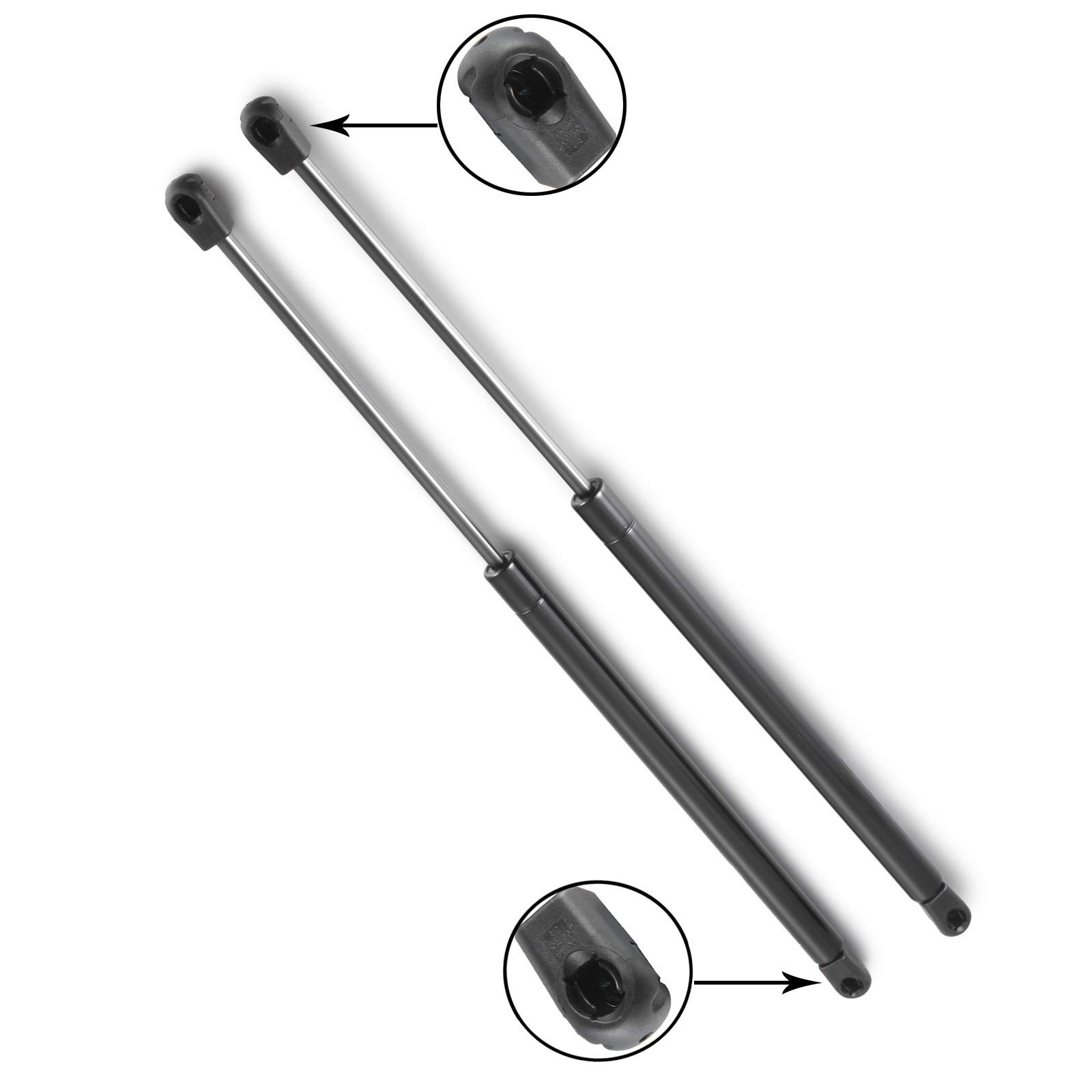 Madlife Garage Pair of REAR Tailgate Boot Gas Struts Springs 2S51B406A10AD 2S51B406A10AC For Fiesta V 3 Doors 2002-2008