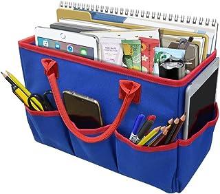 Godery Desktop File Folder Tote and Stock Organize, Fundamentals Art Organizer Storage Craft Tote Bag for Office Desk Orga...