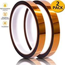 Heat Resistant Tape, Kapton Tape for Masking, Soldering, Protecting Circuit Board, Cellphone Data line and Battery