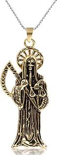Best gold scythe pendant Reviews
