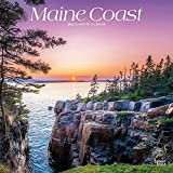 Maine Coast 2022 12 x 12 Inch Monthly Square Wall Calendar, USA United States of America Northeast State Ocean Sea Nature