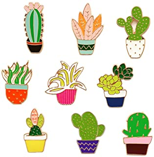 dccd88d91 Cute Enamel Lapel Pins Sets Cartoon Animal Plant Fruits Foods Brooches Pin  Badges for Clothing Bags