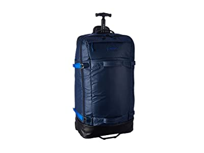 Burton Multipath Checked Travel Bag (Dress Blue Coated) Luggage