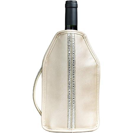 グリーンウィーク ワインクーラー 保冷 ワインボトルクーラーカバー (シャンパンゴールド)
