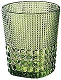 Cilio Trinkglas 300 ml, Glas, smaragd, 8,5 x 8,5 x 10 cm