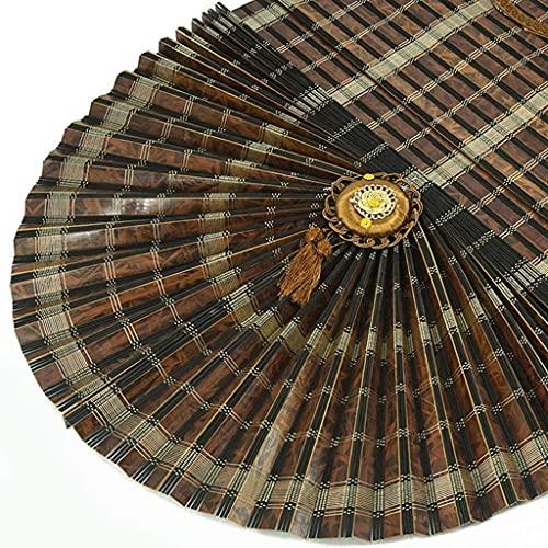 La Cortina de la Ventana de la Ventana Veneciana de bambú, la Cortina en Forma de Ventilador Romana Romana Levanta y Divide la sombrilla, a Prueba de Agua, Anti-deformación y Duradera