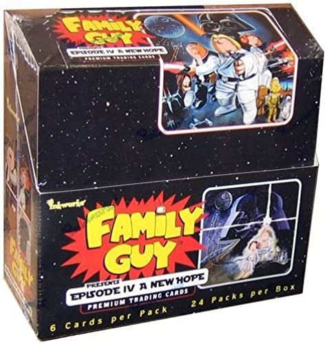 Family Guy Episode IV  A New Hope Trading Cards Box of 24 by Inkworks
