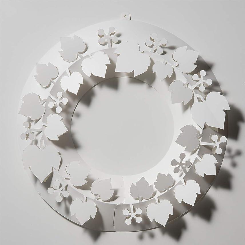 スプーン収入司書Paper wreath ペーパーリース ( 山ぶどう / M )
