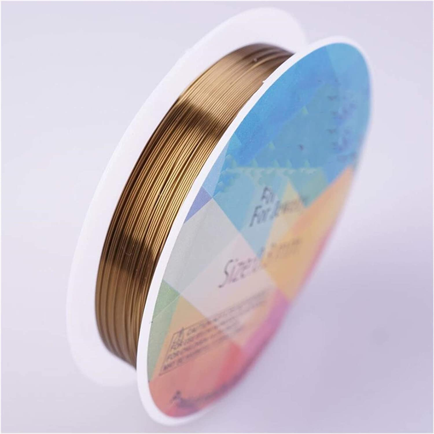 CHUNMA Colorfast Copper Max 63% OFF Wire for free DIY Bracelet Jewelry A Necklace