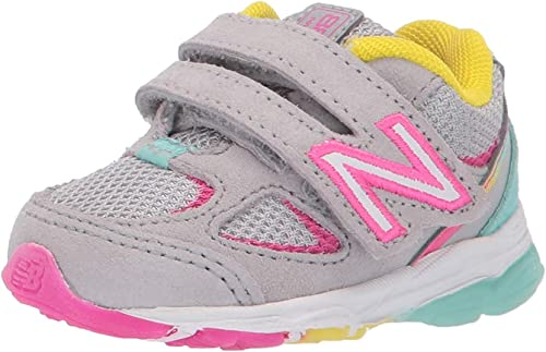 New Balance Kid's 888 V2 Hook and Loop Running Shoe