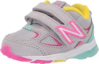 New Balance Unisex-Child Girls 888v2 Hook and Loop
