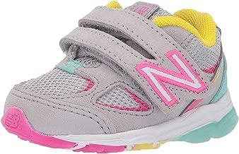 New Balance Kids' 888v2 Hook and Loop Running Shoe