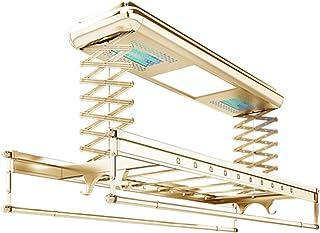 Le séchoir à linge électrique soulève automatiquement à distance la corde à linge, Plafonnier rétractable et poteau de séc...