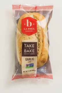 La Brea Bakery Take & Bake Garlic Loaf, 12 oz (Frozen)