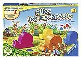Ravensburger- Allez les escargots - Premier jeu de société pour enfants - Jeu en bois - Dès 3 ans - 20617