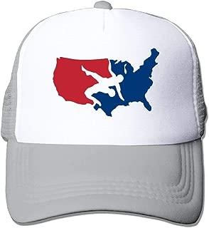 WAZH New Baseball Cap USA Wrestling Logo Teen Girls Personalized Summer Snapback Hats