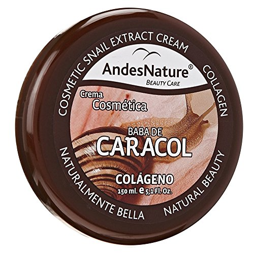 AWESOME 150ml (5.10z) BABA DE CARACOL SNAIL EXTRACT & COLLAGEN REPAIR CREAM CREMA FOR ANTI AGEING ACNE STRETCH MARK ROSACEA WRINKLES BURNS SCARS AGE SPOTS by HBA Mart