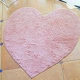 ZHOUAICHENG Nordic Pink Love weiche Plüschmatten Baby Teppich Spielmatte Schaum Baby Teppich Teppich Babydecke rutschfeste Kinderzimmer Dekoration