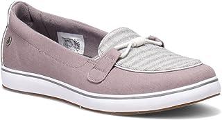 حذاء رياضي Walden نسائي من Grasshoppers، رمادي، 8 عريض