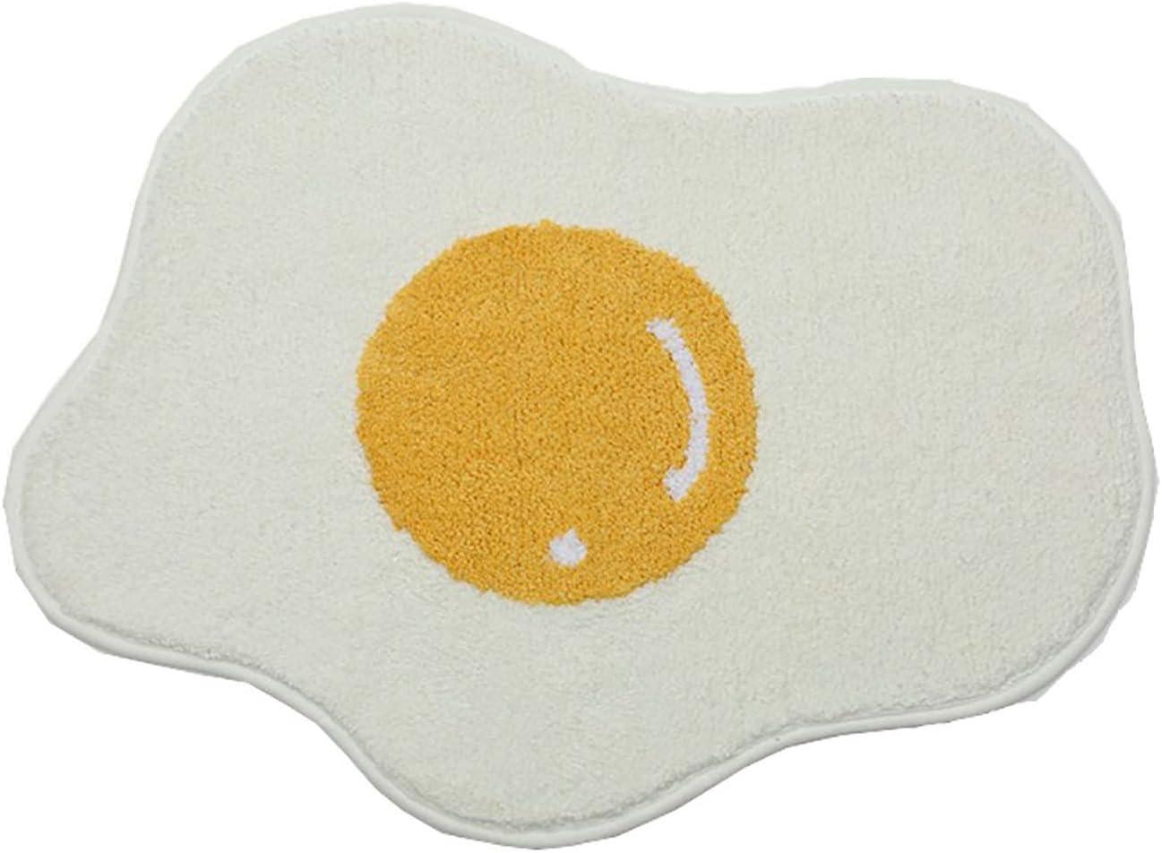 AILSAYA Bath Mat Kids Bathroom Cartoon Rugs Egg Purchase New color Shape
